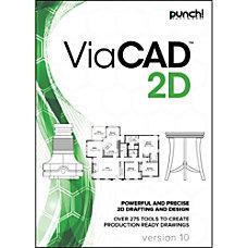 Punch ViaCAD 2D v10 for Windows