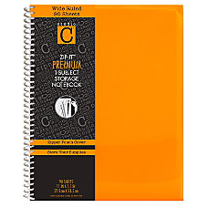 Carolina Pad Zip It Notebook 8