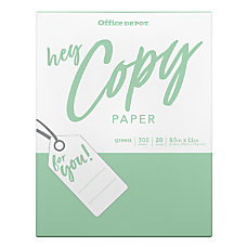 Office Depot Brand School Copy Paper