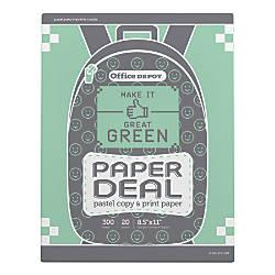 Office Depot Brand School Copy Paper
