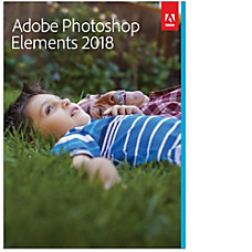 Adobe Photoshop Elements 2018 For PCMac