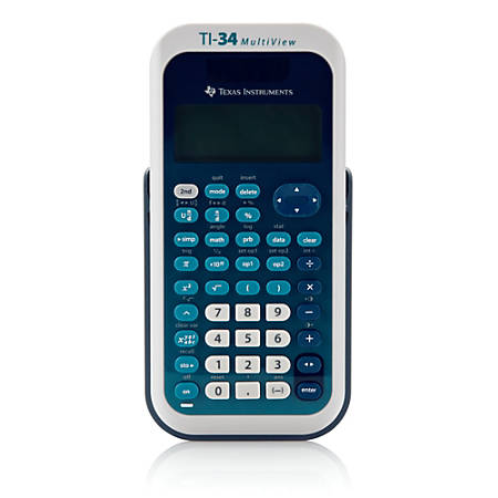 Texas Instruments® TI-34 MultiView™ Scientific Calculator Item # 372311