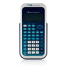Texas Instruments TI 34 MultiView Scientific