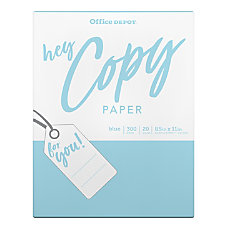 Office Depot School Copy Paper Letter