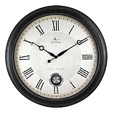 FirsTime Co Adair Wall Clock Oil
