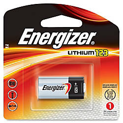 Energizer Lithium 123 3 Volt Battery