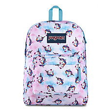 JanSport SuperBreak Backpack Unicorn Clouds