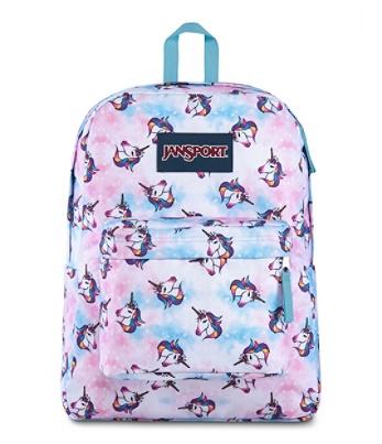 JanSport® SuperBreak Backpack, Unicorn Clouds Item # 3724341