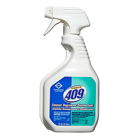 Clorox 409® Cleaner Degreaser Disinfectant, 32-Oz Smart Tube Spray, Case Of 12