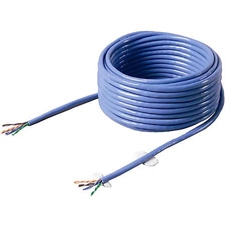Belkin FastCAT Cat.5e Bulk Cable(Bare wire) - 1000ft - White