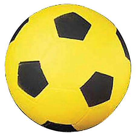 Champion Sport s Size 4 Foam Soccer Ball - Yellow, Black - 1 Each