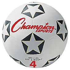Champion Sport s Size 4 Soccer