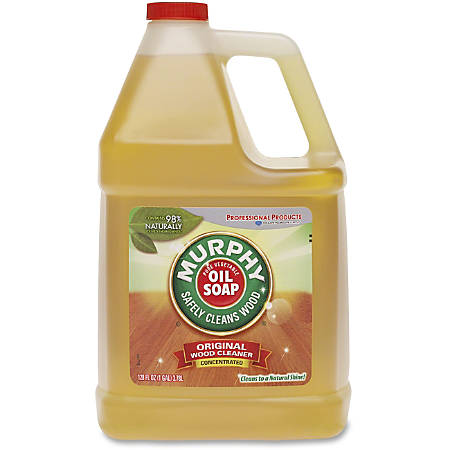 Murphy 128oz Oil Soap Wood Clnr - Liquid - 1 gal (128 fl oz) - Fresh ScentBottle - 4 / Carton - Gold