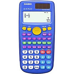 Casio fx 55Plus Scientific Calculators Pack