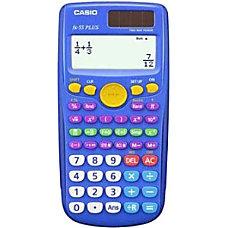 Casio fx 55Plus Scientific Calculators Pack