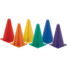 Champion Sports Plastic Cones Assorted Vinyl