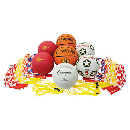 Champion Sports Physical Education Kit - Assorted