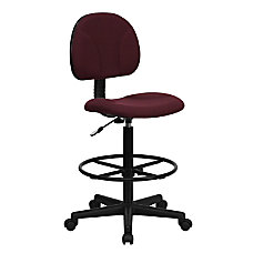 Flash Furniture Ergonomic Adjustable Drafting Chair