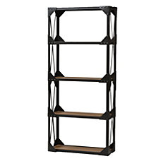 Baxton Studio Ludwig Shelving Unit 4