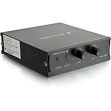 C2G TruLink Audio Amplifier Plenum Rated