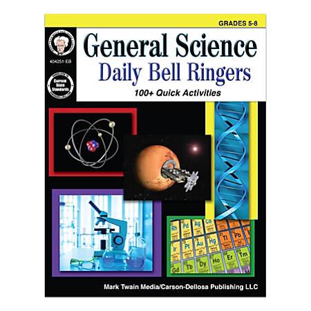 Mark Twain Media General Science: Daily Bell Ringers, Grades 5-8