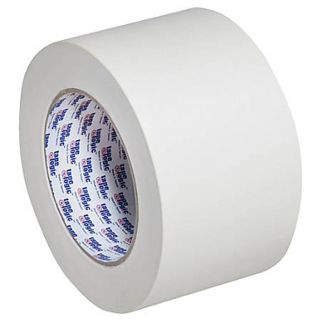 "Tape Logic® 2400 Masking Tape, 3"" Core, 3"" x 180', Natural, Pack Of 16"