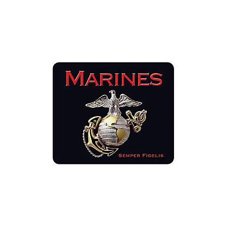 "Integrity Ergonomic Mouse Pad, 8.5"" x 10"", Marines Pride Logo"