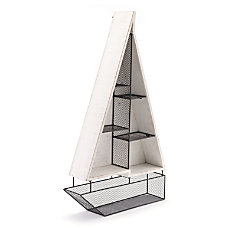 Zuo Modern Boat Shelf 3 Shelves