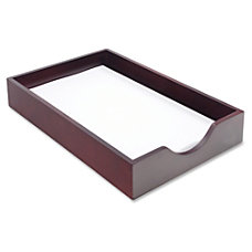 Carver Mahogany Desk Tray Hardwood Mahogany
