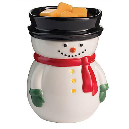 "Candle Warmers Etc Illumination Fragrance Warmer, 8-13/16"" x 5-13/16"", Frosty"
