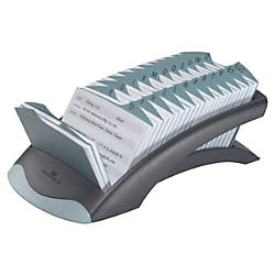 Durable Address Card File 500 Address