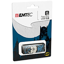 Emtec USB Slider Flash Drive 8GB