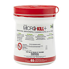 Medline Micro Kill Disinfectant Wipes 10