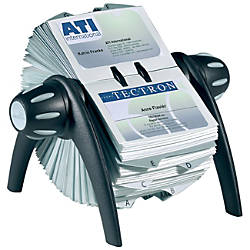 VISIFIX Rotary Business Card File