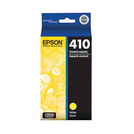 Epson® Claria® Premium Standard-Yield Yellow Ink Cartridge (T410420-S)