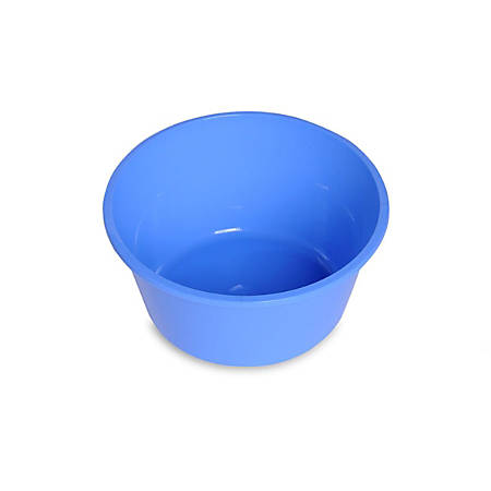 Medline Sterile Plastic Bowls, Non-Graduated, 32 Oz, Blue, Pack Of 50