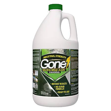 Green Gobbler GONE Mildew, Mold And Algae Stain Remover, 1 Gal, Pack Of 3 Bottles
