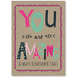 Viabella Encouragement Greeting Card With Envelope