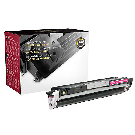 Clover Technologies Group 200754P Remanufactured Toner Cartridge Replacement For HP 130A Magenta