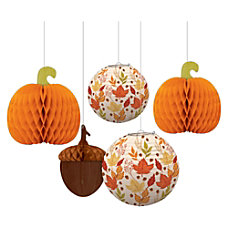 Amscan Paper Fall Harvest Hanging Bouquet