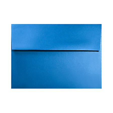 """LUX Invitation Envelopes With Moisture Closure, A1, 3 5/8"""" x 5 1/8"""", Boutique Blue, Pack Of 500"""