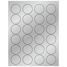 Office Depot Brand Foil Circle Laser