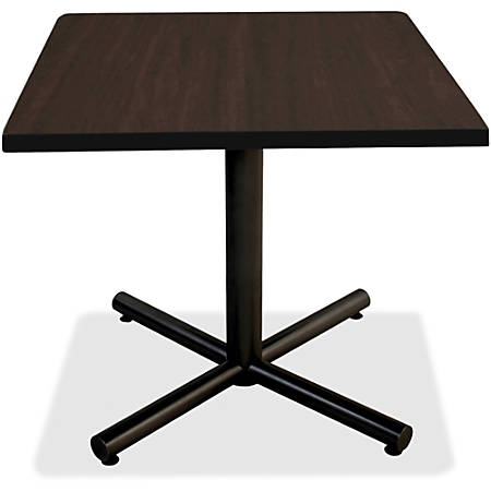 "Lorell® Hospitality Square Table Top, 36""W, Espresso"