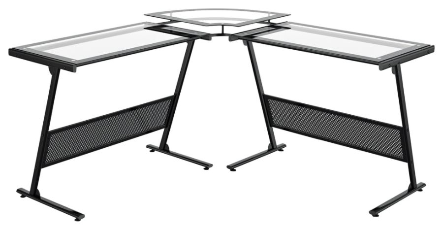 New Zline Glass Desk