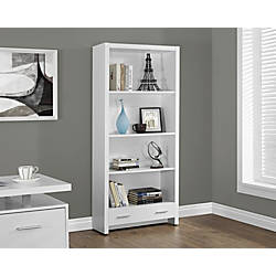 Monarch Specialties 3 Shelf 1 Drawer