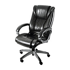 Z Line Designs Leather Chair Black