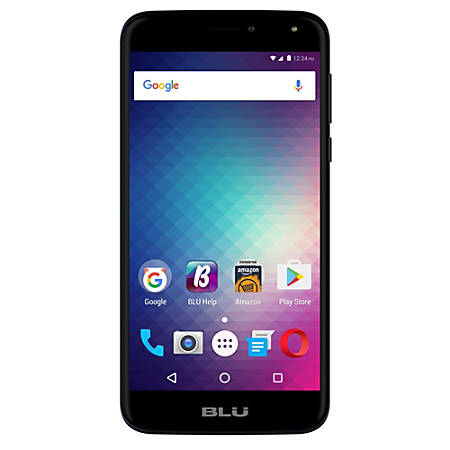 BLU Life Max L0110UU Cell Phone, Blue, PBN201153