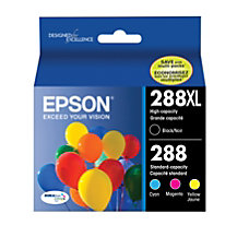 Epson DURABrite Ultra BlackCyanMagentaYellow Ink Cartridges