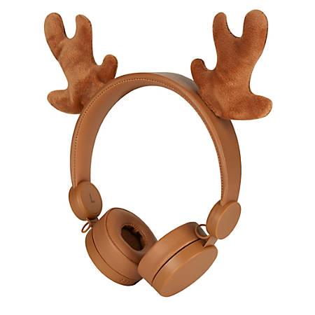 Ativa® Lightweight Over-The-Ear Headphones, Oh Deer, KD-27