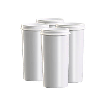 ZeroWater Filtration Systems Replacement Filters, 4/PK